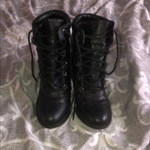 BOOTS FROM CHARLOTTE RUSSE